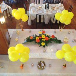decorazioni buffet sala ristorante